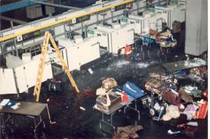Twin Attacks at the Airports of Vienna and Rome (Dec. 27, 1985)